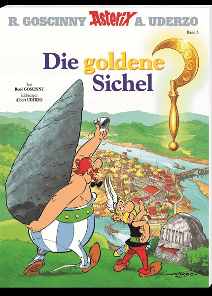 Asterix Nr 5 Die Goldene Sichel Micky Maus Comic Asterix Erobert Rom Bruce Banner