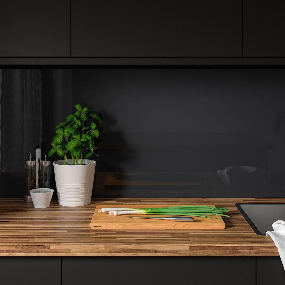 Pinnarp Countertop Walnut Veneer 74x1 1 2 Ikea In 2020