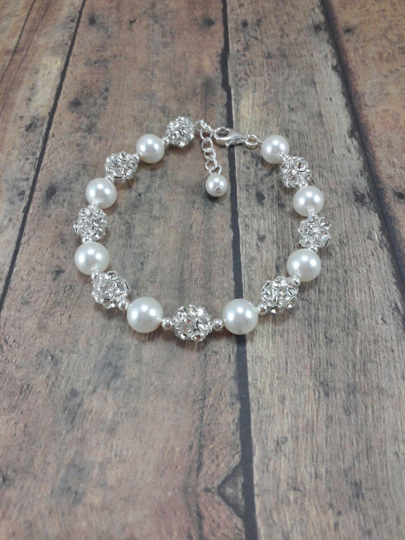 Pearl Bridal Bracelet, Wedding Jewelry Bracelet, Bridal Bracelet Wedding, Bride Bracelet Pearl, Bridal Jewelry Pearl Bracelet, Bridesmaid by AmandaBadgleyDesigns on Etsy https://www.etsy.com/listing/154051388/pearl-bridal-bracelet-wedding-jewelry