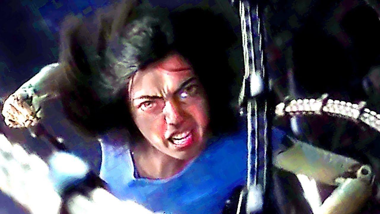 Alita battle angel trailer gunnm movie scifi