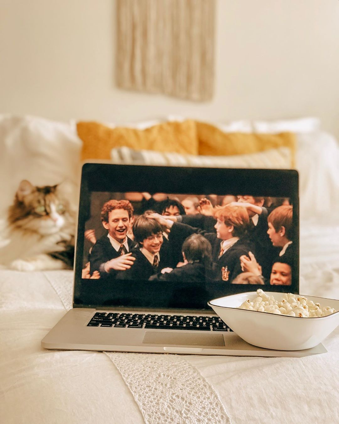 Abigailscupoftea On Instagram The Ultimate Cozy Day Includes A Harry Potter Film Of Cou Harry Potter Photography Harry Potter Aesthetic Harry Potter Movies