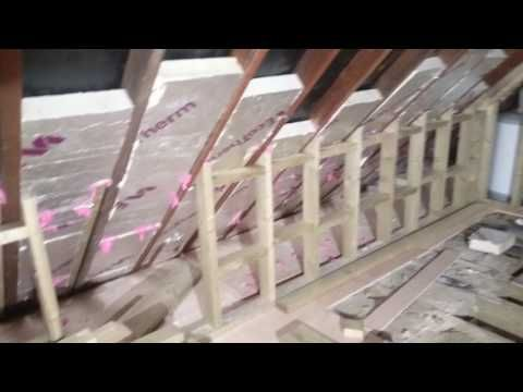 Sbs Loft Conversion Animation Youtube Attic Rooms Attic Flooring Attic Remodel