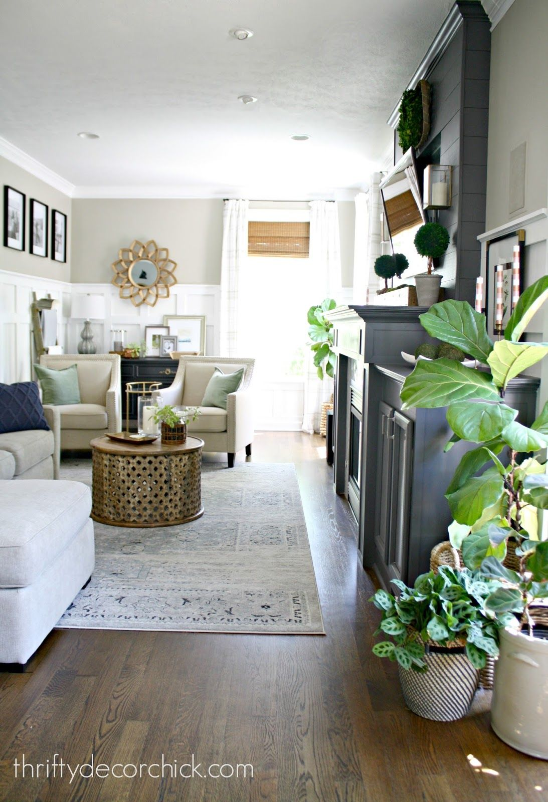 Our Home Narrow Living Room Livingroom Layout Family Room Makeover