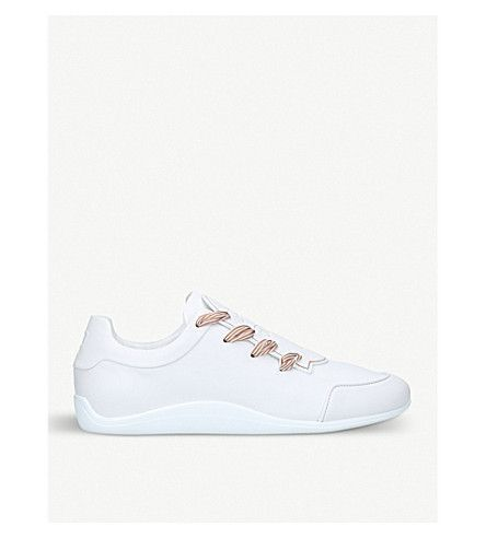Roger Vivier Sporty Viv leather sneakers Hjl3w