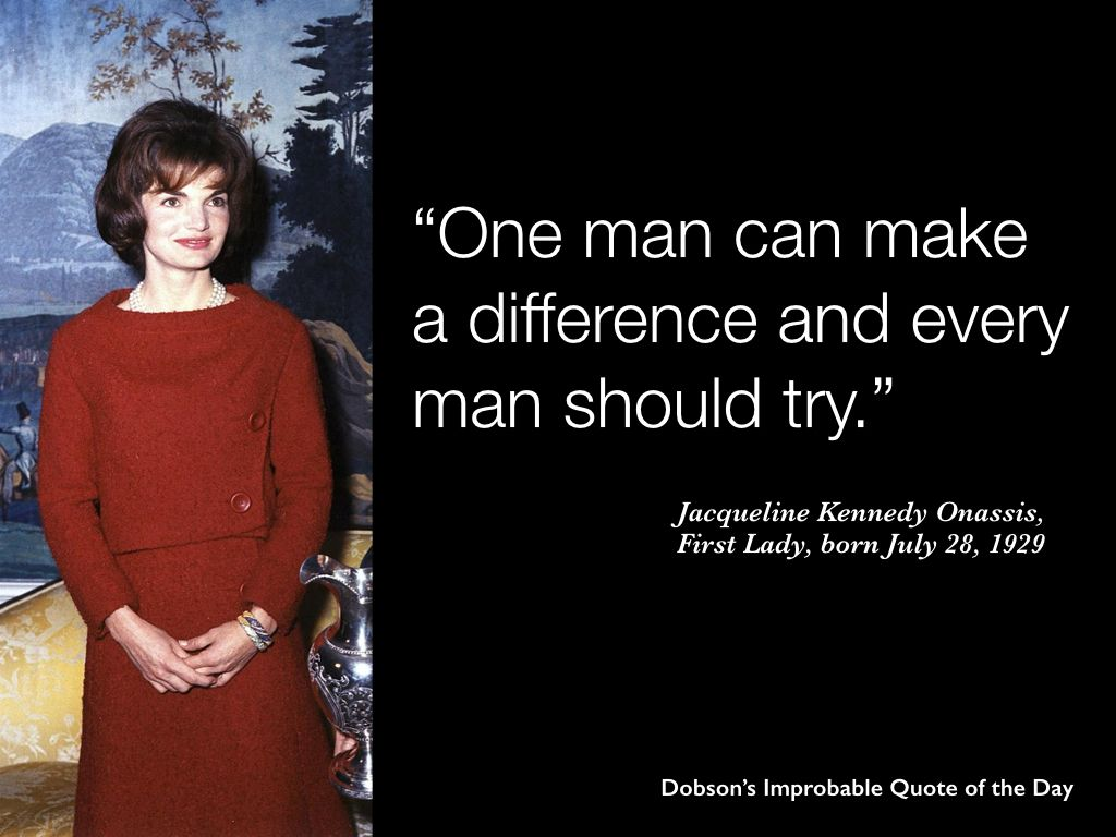 Sandra Day O Connor Quotes One Man Can Make A Difference And Every Man Should Try