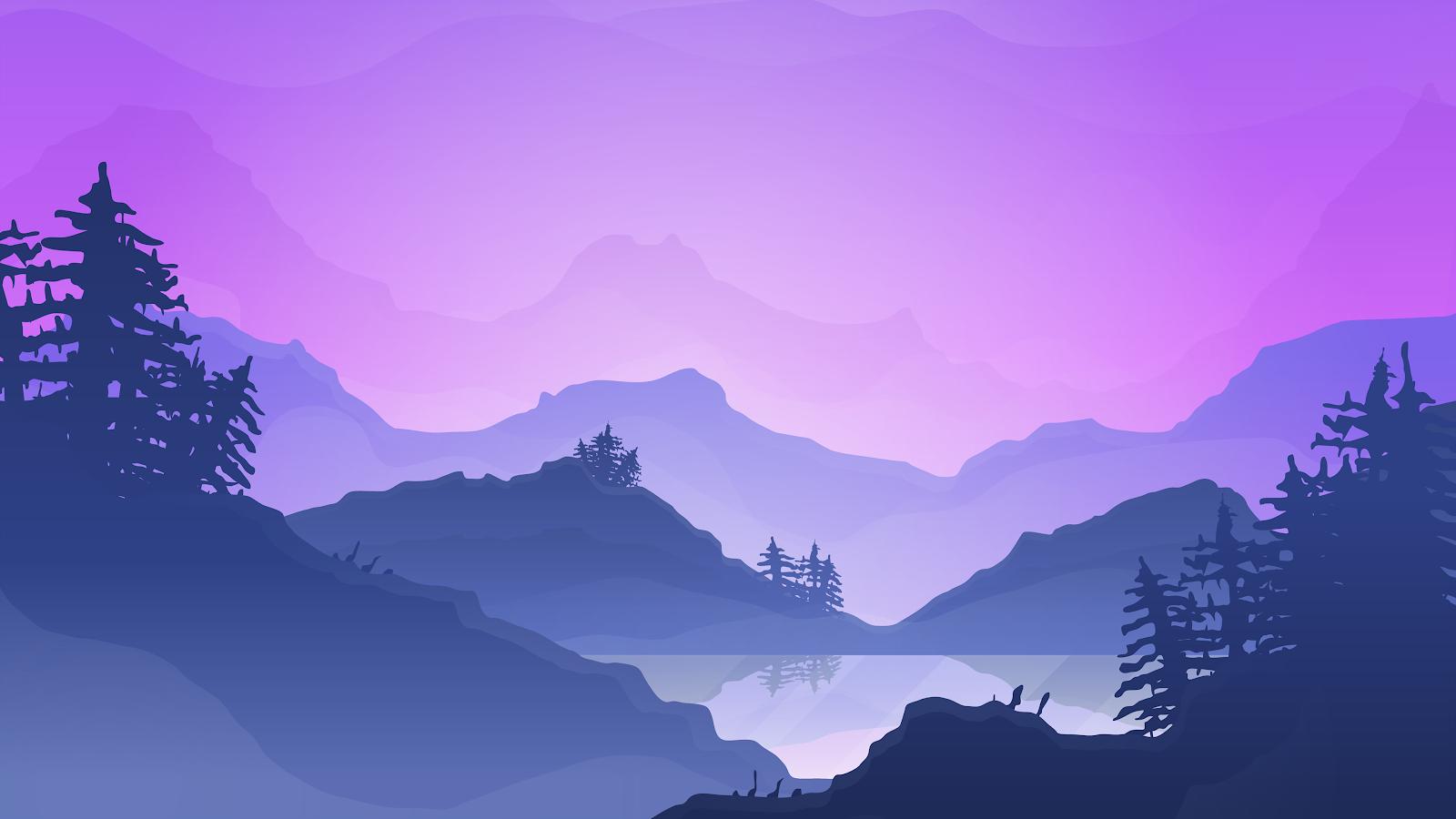 Desktop Wallpaper In 4k Landscape Cool Wallpapers Heroscreen Cc In 2020 Landscape Background Mountain Landscape Vector Free