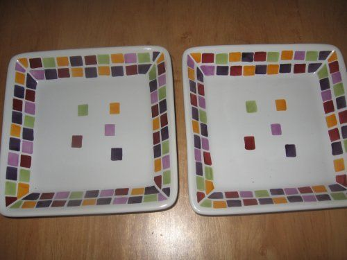Simple Additions P&ered Chef Tiles Pattern Small Square Plates . $39.99. The perfect size for & Simple Additions Pampered Chef Tiles Pattern Small Square Plates ...
