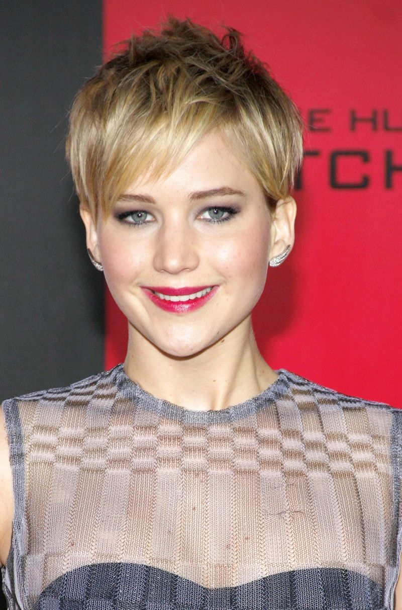 Jennifer Lawrence Hairstyles From Short To Long Hair Pinterest