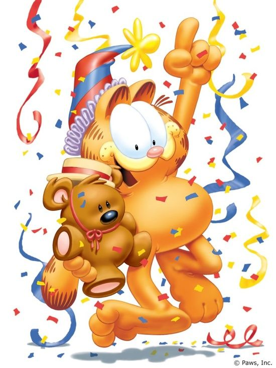 Happy Birthday Garfield Birthday Wishes Garfield Birthday Garfield And Odie