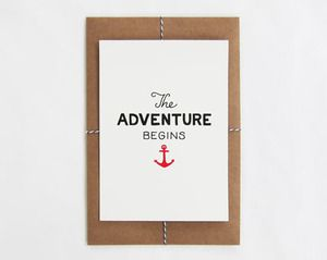 scout's honor co. / The Adventure Begins Print