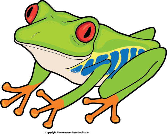 free frog clipart ready for personal and commercial projects rh pinterest com tree frog clip art green tree frog clipart