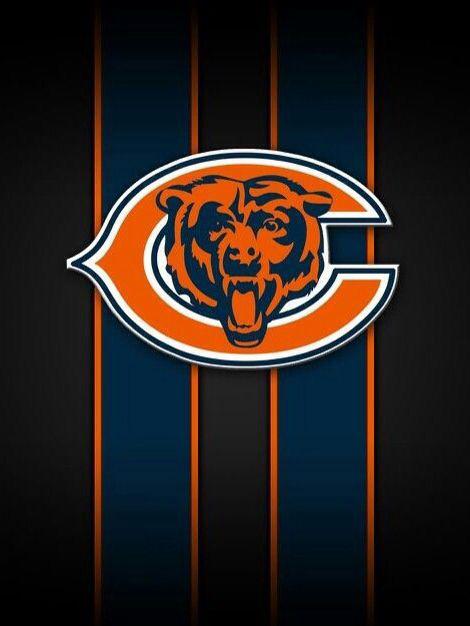 Da Bears Chicago Bears Logo Chicago Bears Wallpaper Chicago Bears
