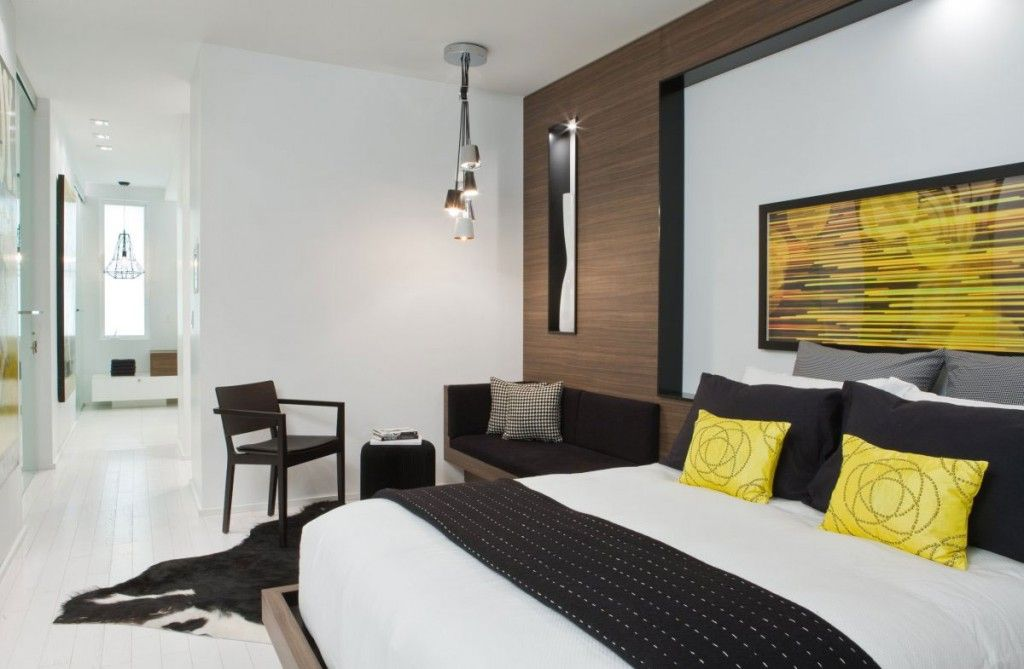 Modern Luxury Spacious Bedroom Design Ideas With Yellow