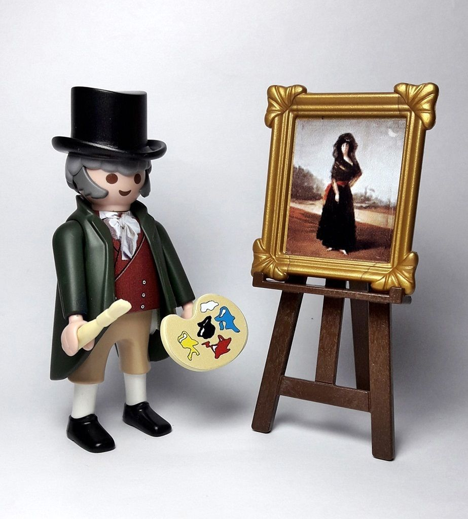 Playmobil Custom Serie Artistas Pintor Goya La Duquesa De