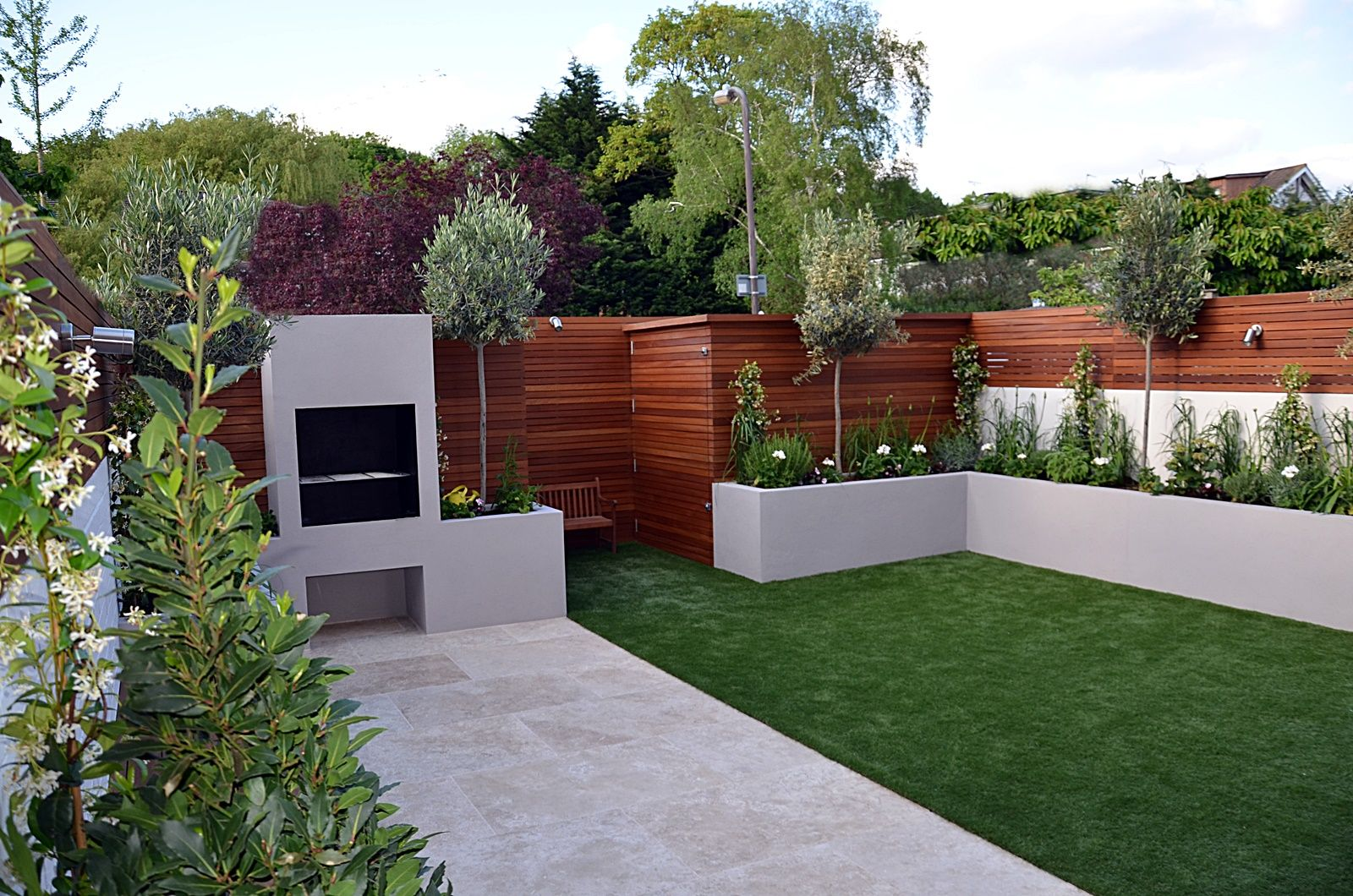 modern garden design designer cheam sutton wimbledon putney london