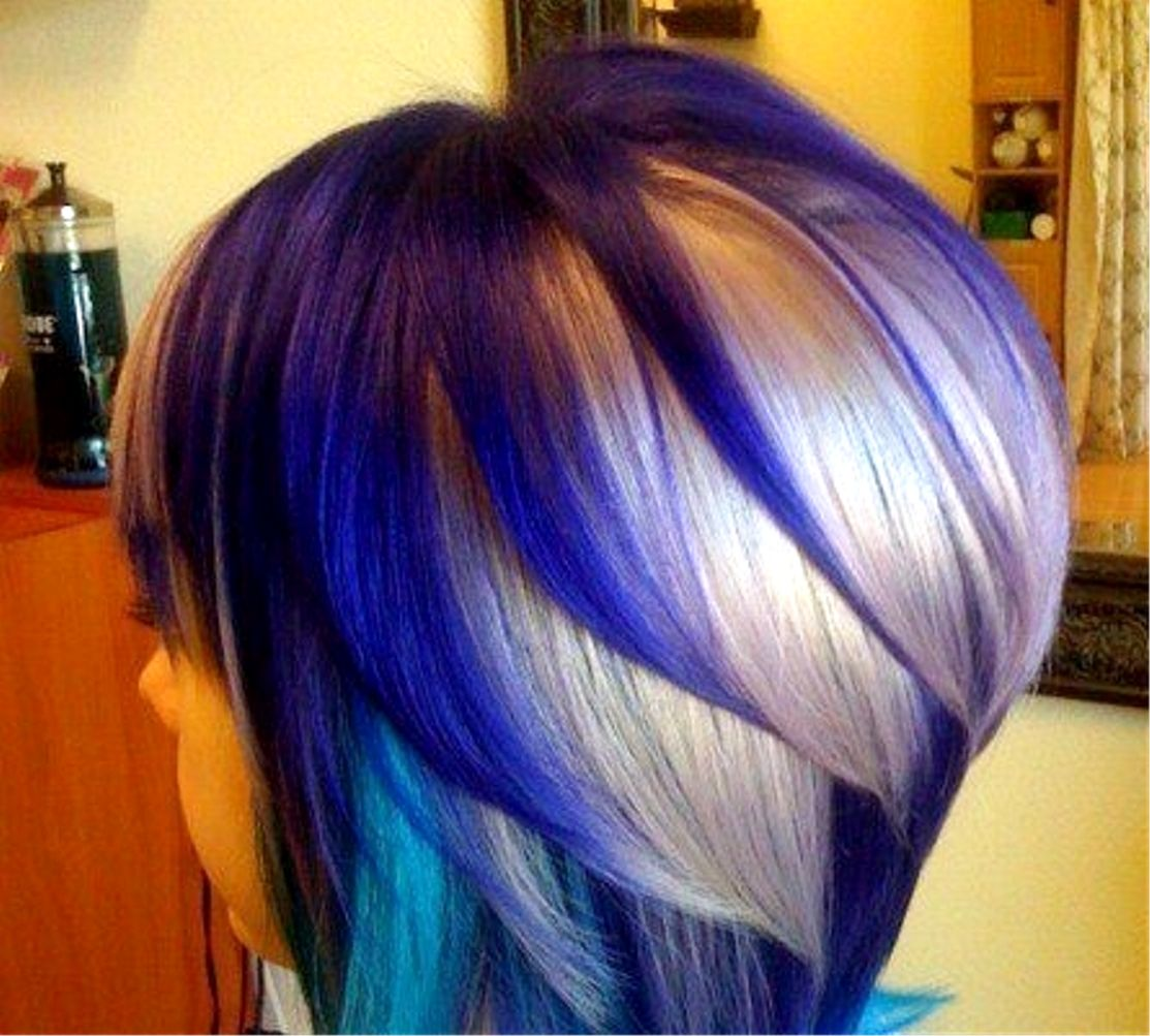 Ium not usually a fan of crazy colored hair but this looks pretty