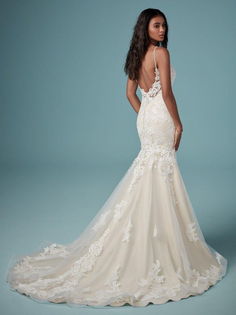 Maggie Sottero Meryl Wedding Dress Used Size 4 600 Casual Wedding Dress Maggie Sottero Wedding Dresses Dresses