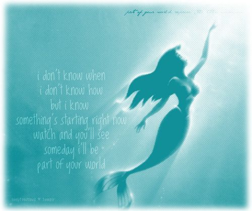 Little mermaid quote quotes Pinterest Funny google