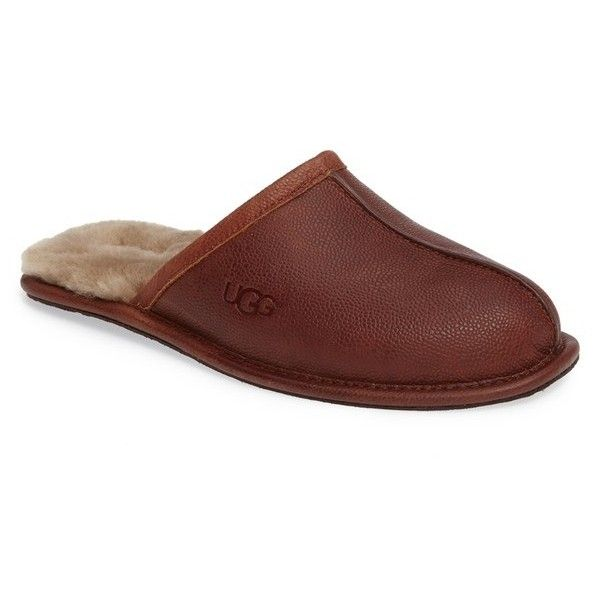 db5529555cf Men's Ugg Scuff Slipper ($100) ❤ liked on Polyvore featuring men's ...