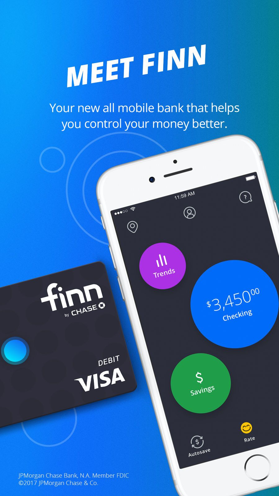 Finn by Chase℠ on the App Store App, Lifestyle apps