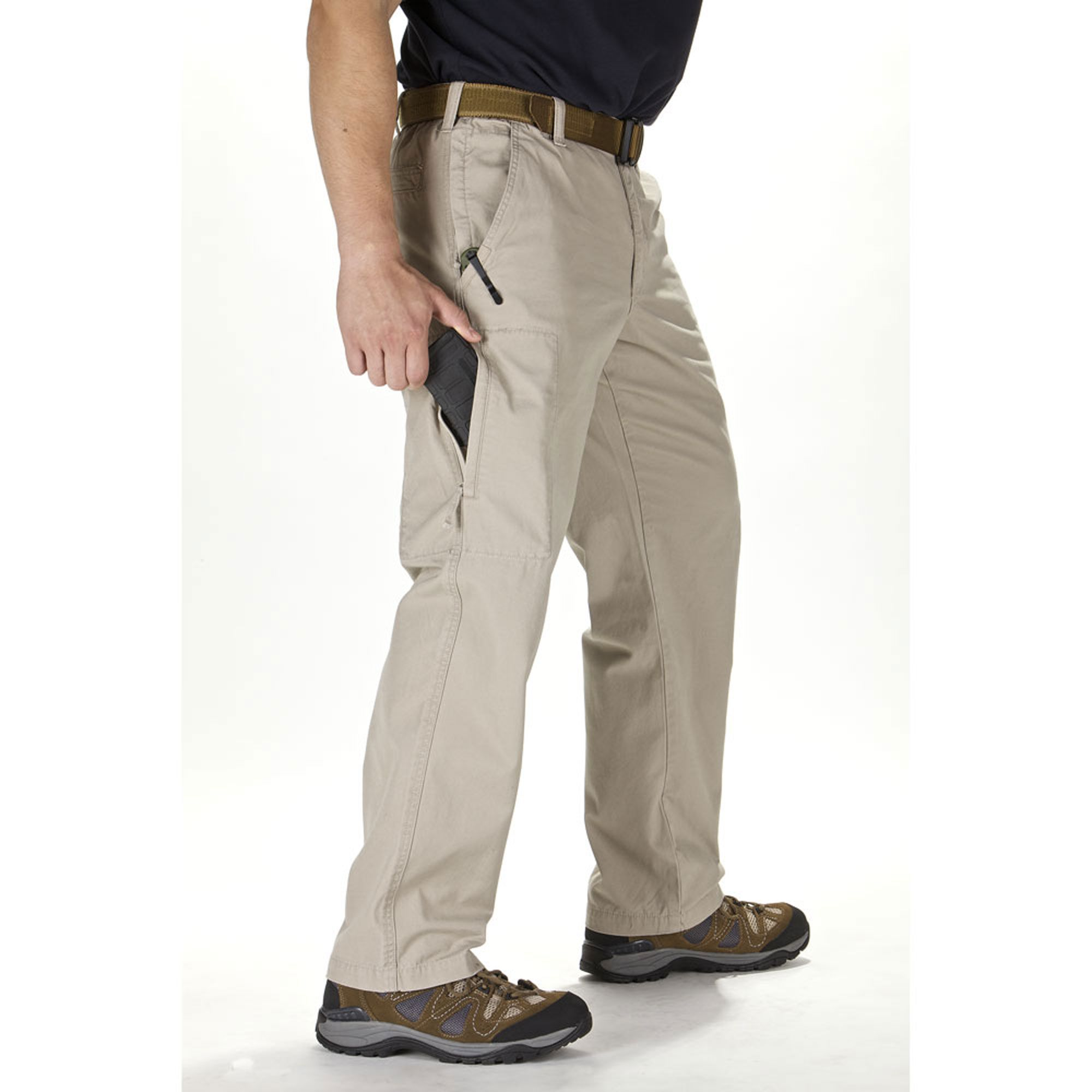 5 11 Covert Cargo Pants by 5 11 Tactical cargo pocket opening hidden in vertical leg