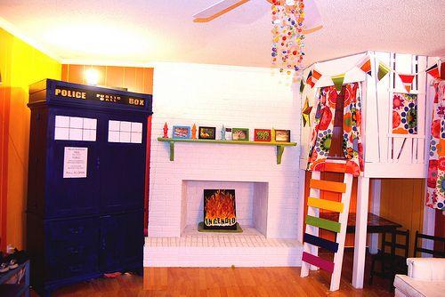 My Star Wars, Doctor Who, Harry Potter rainbow living room   Indoor ...