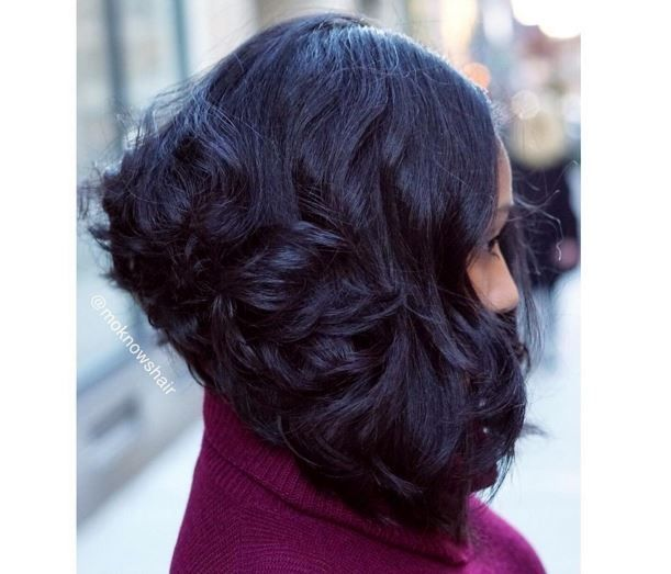 Graduated Layers On @dietdope_ By @Moknowshair At The Aveda Salon