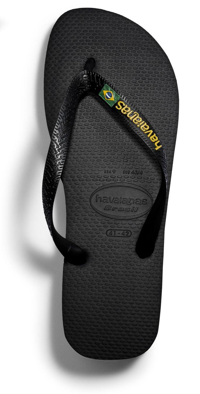 ec720abf75c8 Havaianas Brasil Logo Flip Flops