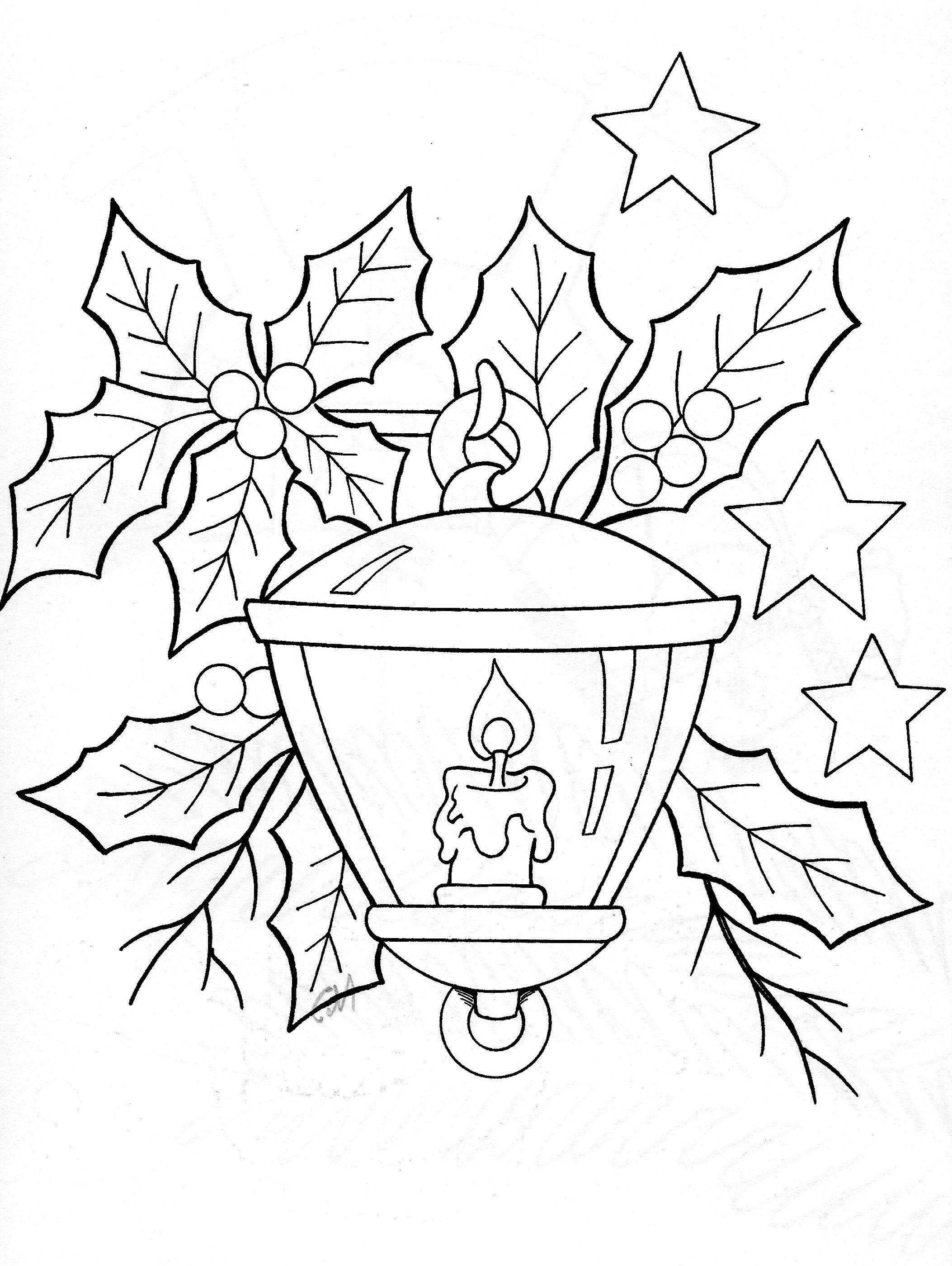 Christmas lantern | Nakış Şemaları | Pinterest | Ausmalbilder ...