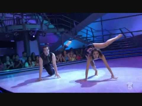 "Janette Manrara and Evan Kasprzak dance Jazz to ""Move"" (Metronomy Remix) by CSS. Choreography by Sonya Tayeh Se5"