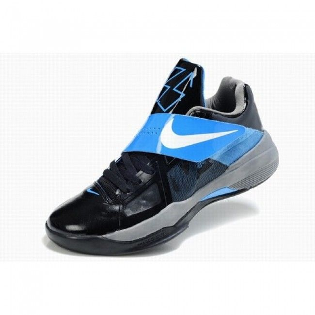Unique Nike Zoom Kevin Durant New KD IV Men Black Blue Basketball Shoes  $72.5 http: