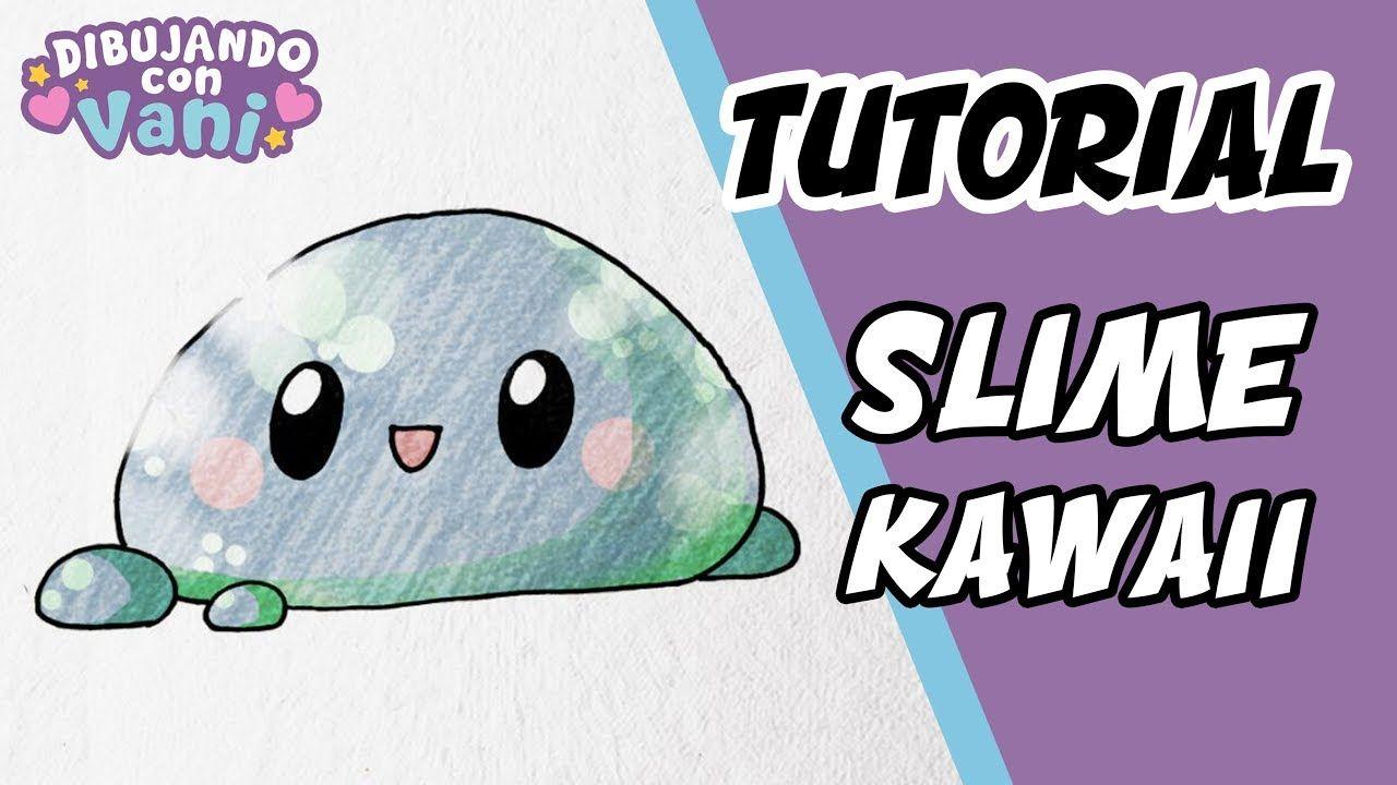 Como Dibujar Slime Kawaii Para Ninos Dibujos Faciles Anime Dibujos P Dibujos Kawaii Dibujos Faciles Kawaii
