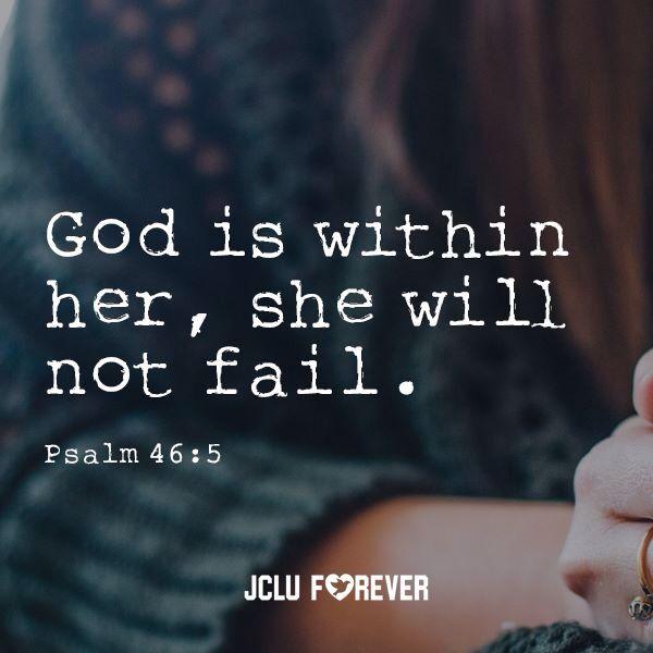 I will not fail