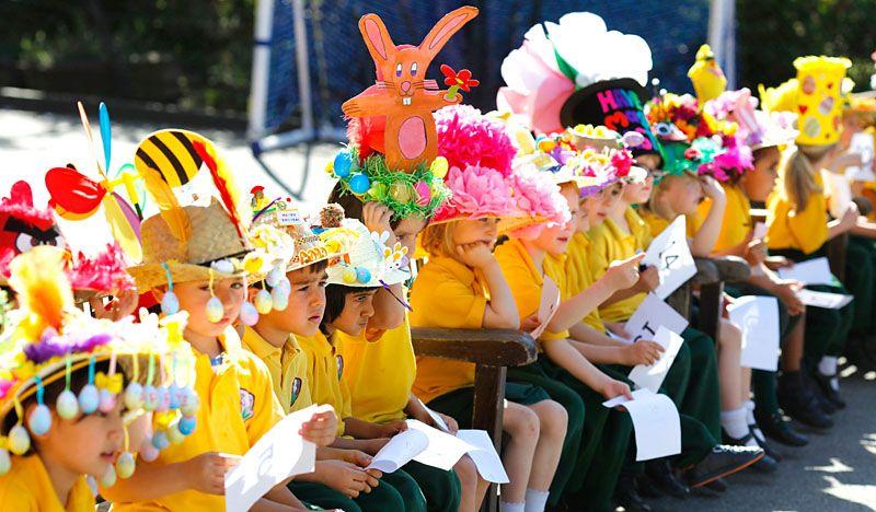 Image result for easter bonnet parade