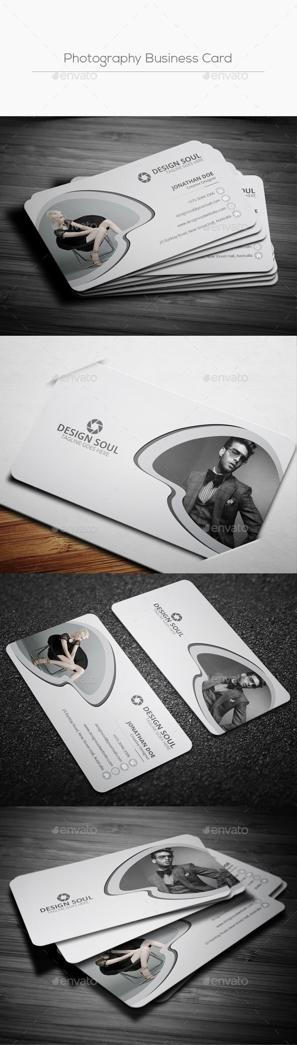 Simple photography business card pinterest cartes de visita simple photography business card template psd download here httpsgraphicriver reheart Gallery