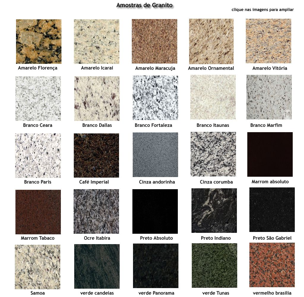 Marmozan m rmores granitos gravatai rs fone for Tipos de granitos
