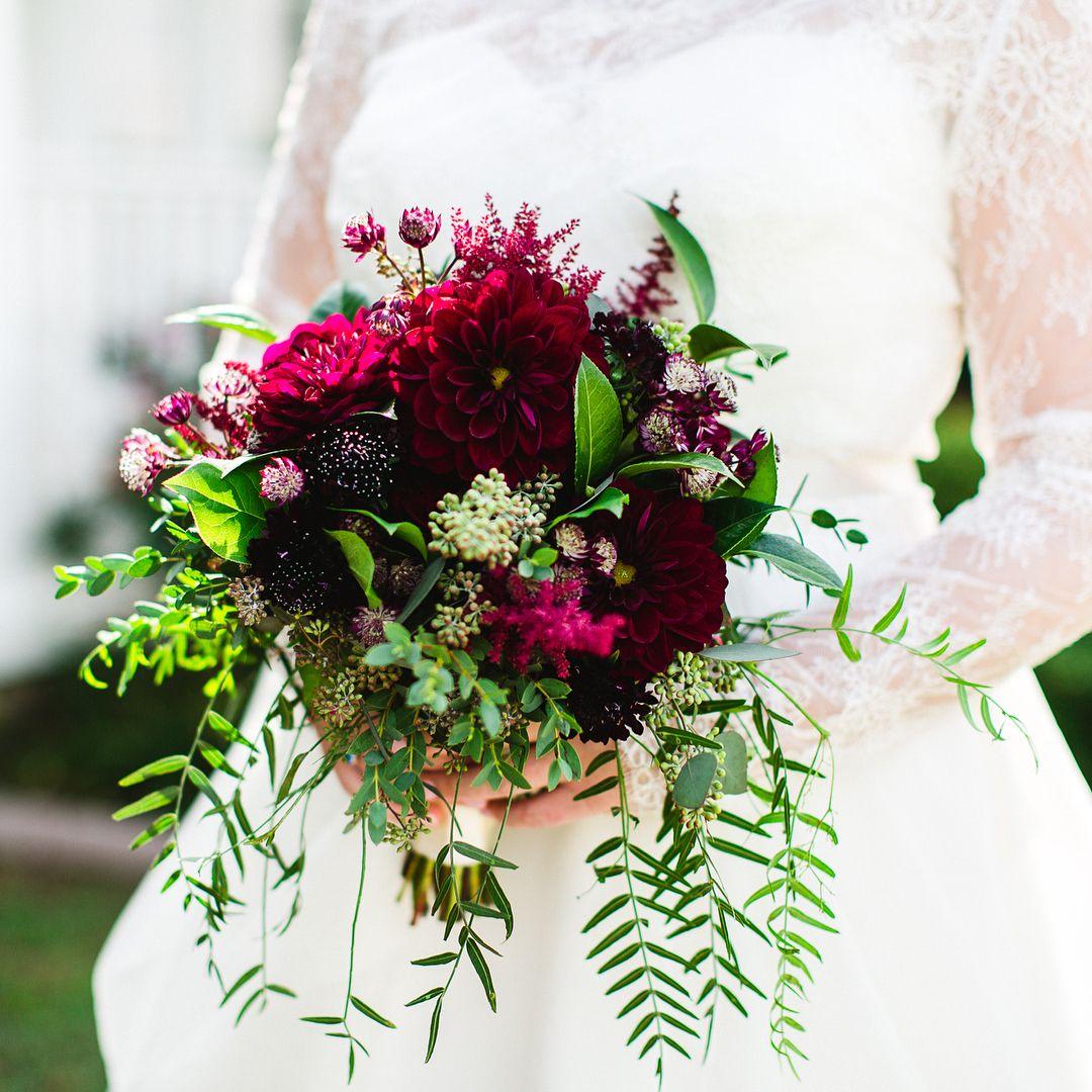 Beautiful burgundy bouquet Burgundy bouquet, Dallas