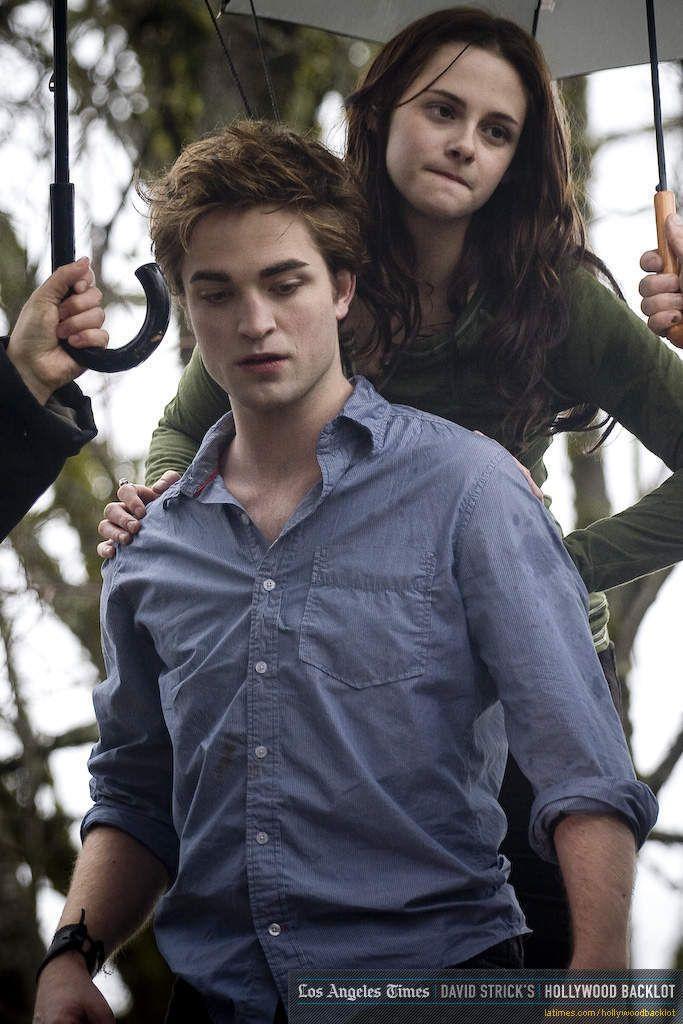 Rob & Kristen Behind the Scenes on Twilight