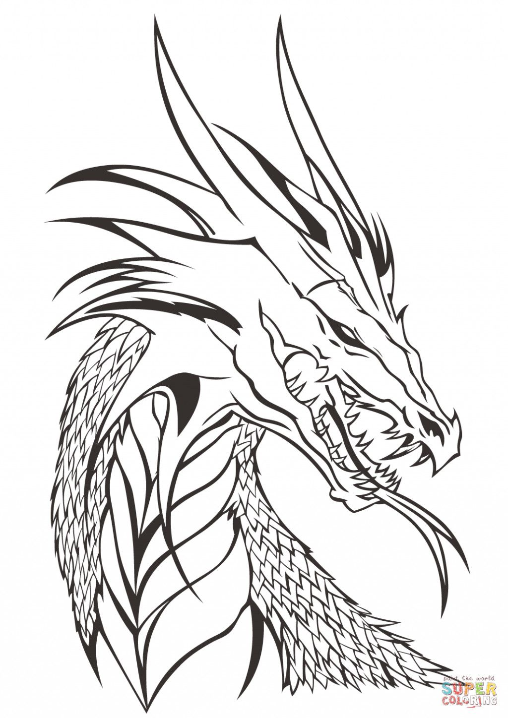 Dragon Coloring Pages Printable New Coloring Sheets