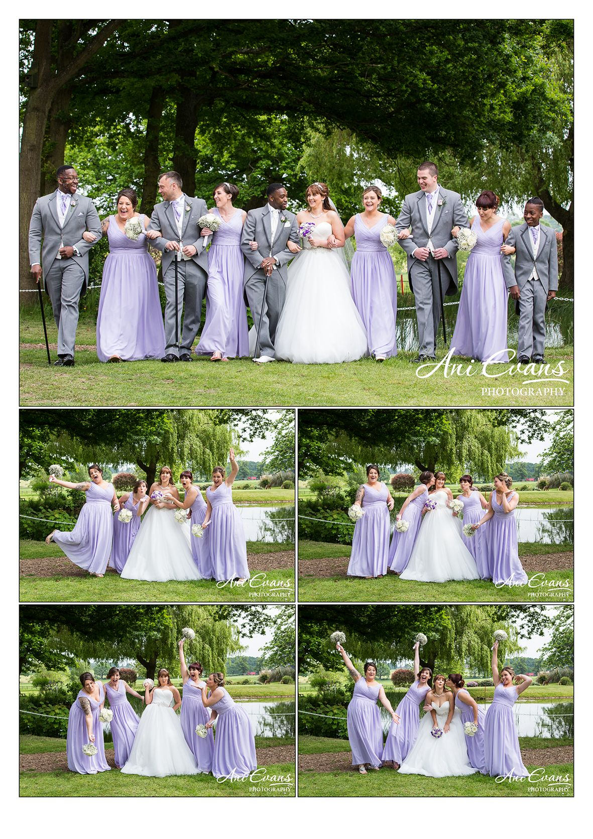 Laura and Corey Nailcote Hall Wedding