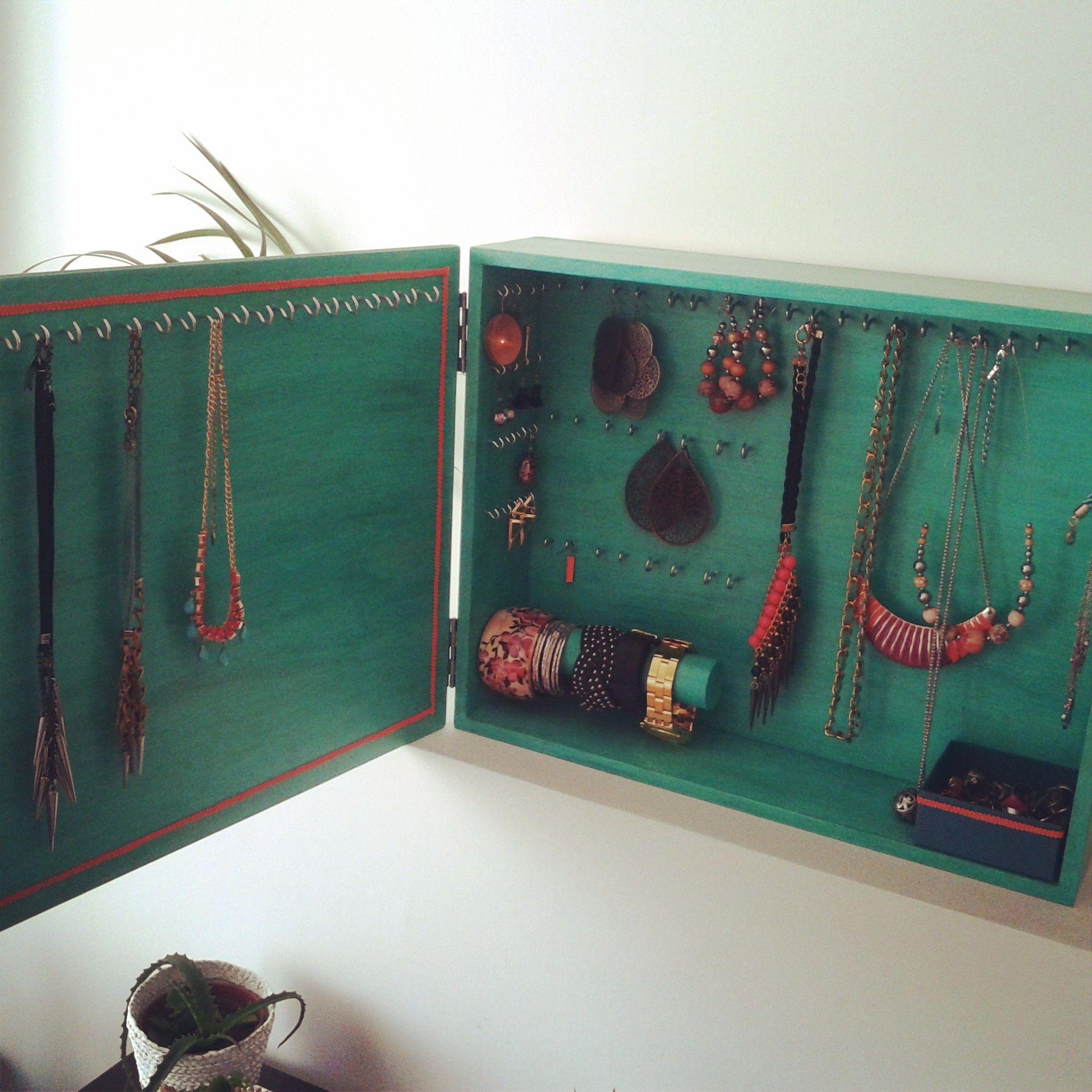 Mueble Organizador De Bijou By Arte Chulo Https Www Facebook Com  # Muebles Para Bijou