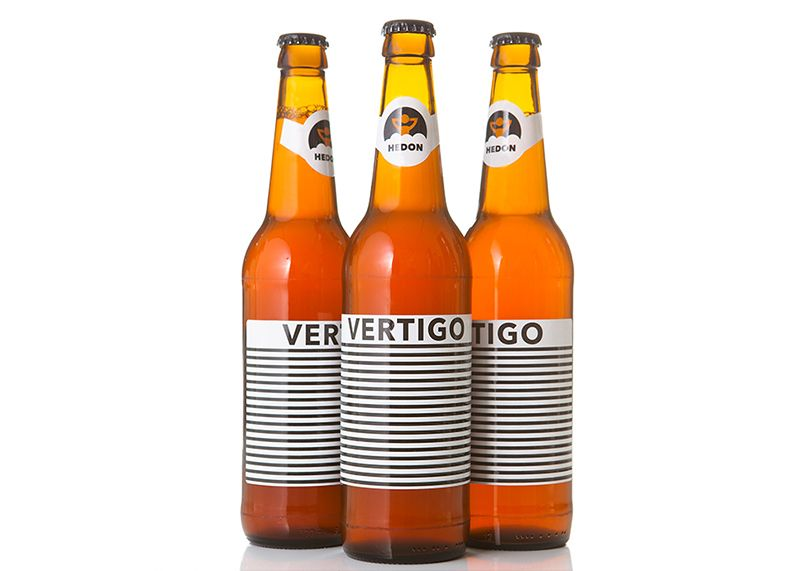Label Design For Hedon Vertigo Craft Beer By Flying Objects And