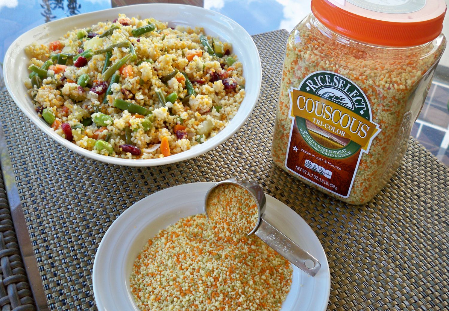 Couscous- how to use it as a salad, side dish and stuffing!!