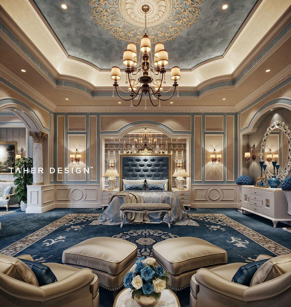 Luxury Master Bedroom Dubai On Behance: Luxury Master Bedroom By Taher Design Studio For A Villa