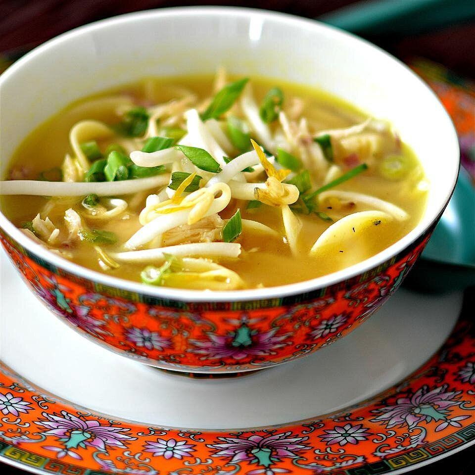 thai chicken cabbage soup | recipe in 2020 | chicken