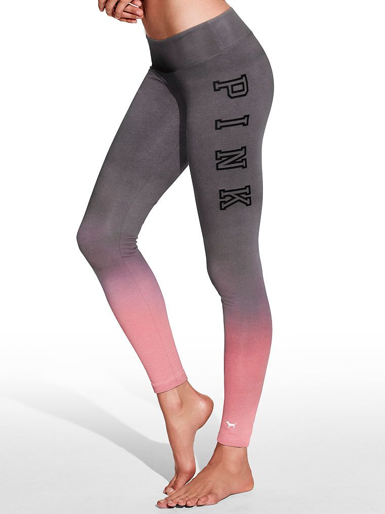 5bbd40fee2d66 Yoga Legging - PINK - Victoria's Secret | Vs PINK | Pink leggings ...