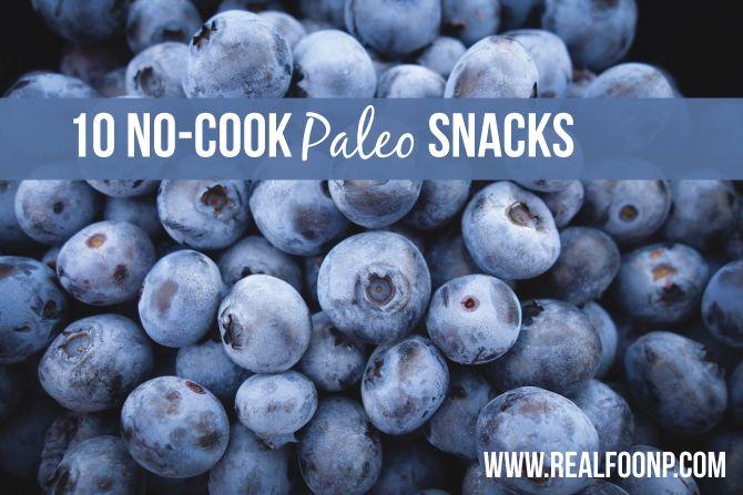 10 no-cook paleo snacks // www.realfoodnp.com #paleo #whole30 #jerf