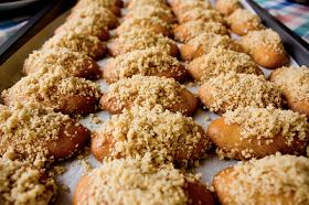 The mystery fishbowl: Melomakarona Greek Christmas Cookies