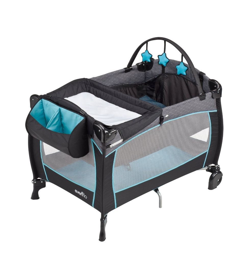 NEW Evenflo Portable BabySuite Pack N Play Bassinet Baby