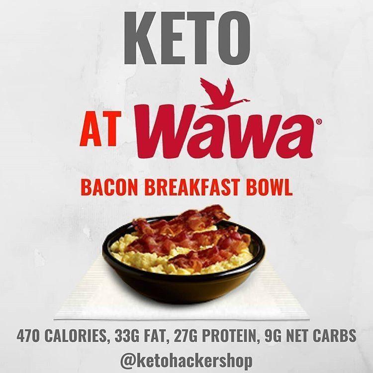 Keto at Wawa. Keto restaurant hacks. Keto tips and tricks